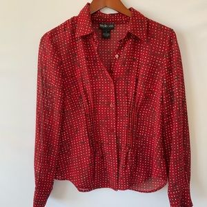 Style & CO. M blouse Rd